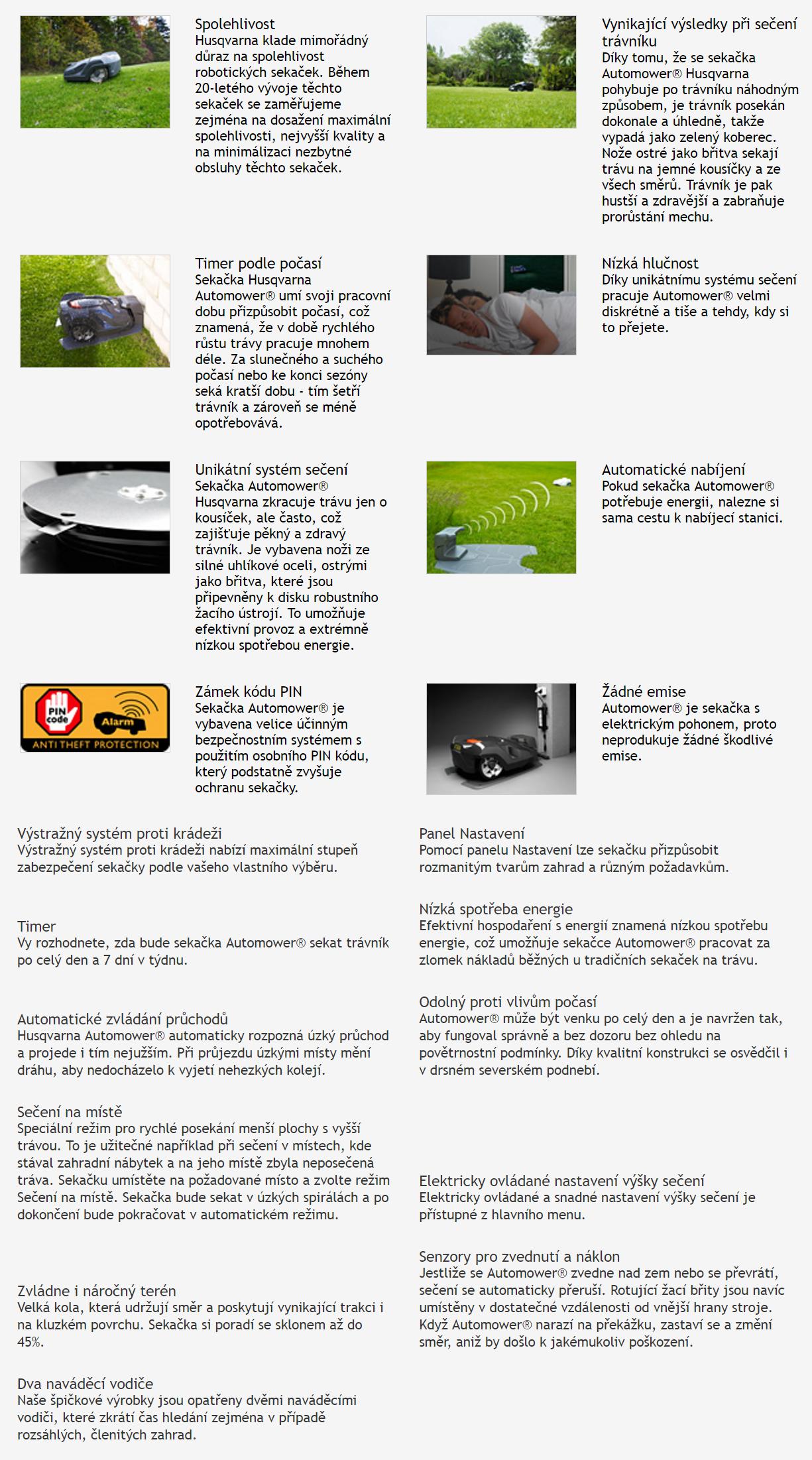 Husqvarna - AUTOMOWER® 550
