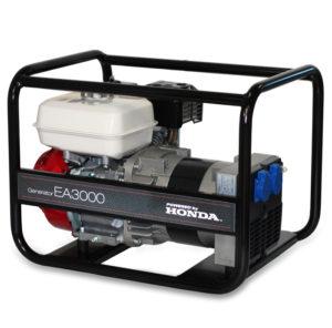 Honda - rámová profesionální elektrocentrála EA 3000