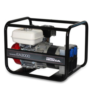 Honda - rámová profesionální elektrocentrála EA 3000 AVR