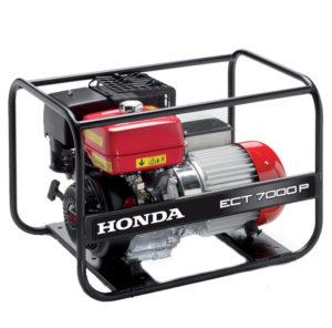 Honda - rámová profesionální elektrocentrála ECT 7000 P G