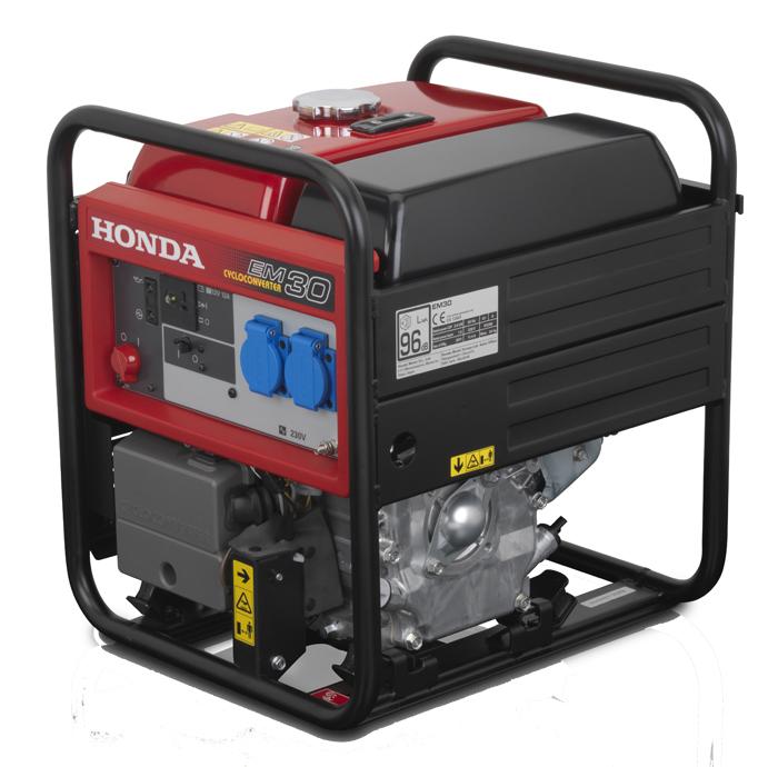 Honda - rámová profesionální elektrocentrála EM 30
