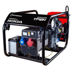 Honda - rámová profesionální elektrocentrála TP 12 H s podvozkem