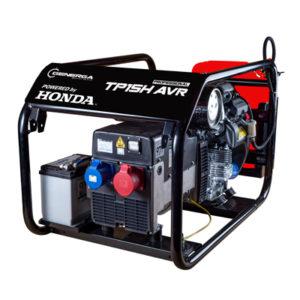 Honda - rámová profesionální elektrocentrála TP 15 H AVR s podvozkem