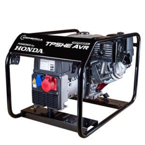 Honda - rámová profesionální elektrocentrála TP 5 HE AVR