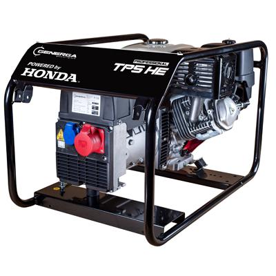 Honda - rámová profesionální elektrocentrála TP 5 HE