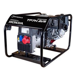 Honda - rámová profesionální elektrocentrála TP 7 H AVR