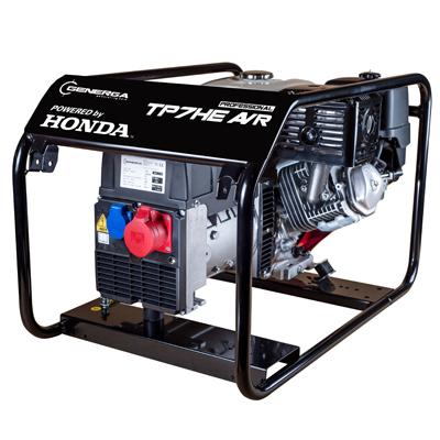 Honda - rámová profesionální elektrocentrála TP 7 HE AVR