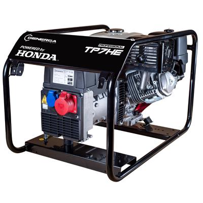 Honda - rámová profesionální elektrocentrála TP 7 HE