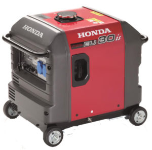 Honda - tichá profesionální elektrocentrála EU 30iS