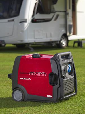 Honda - přenosná profesionální elektrocentrála EU 10i