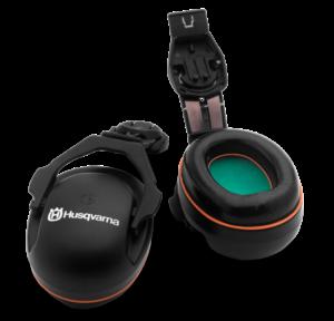 Husqvarna - Mušlové chrániče sluchu - pro připevnění k přilbě Functional a přilbě pro arboristy Technical