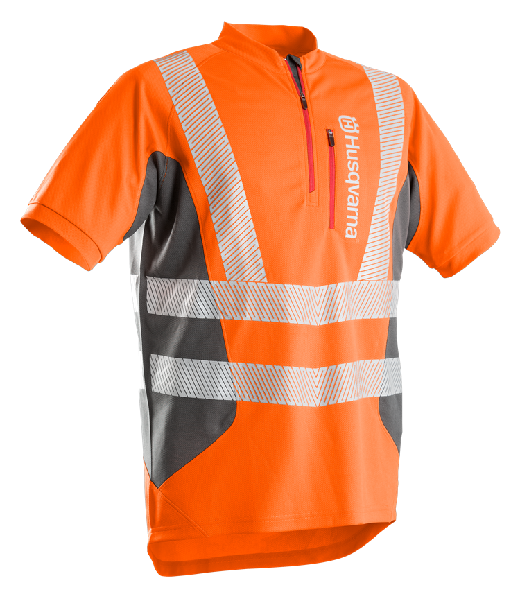 Husqvarna - Pracovní triko s krátkým rukávem Technical, reflexní