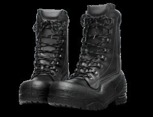 Husqvarna - Kožené boty s protipořezovou ochranou 20 m/s