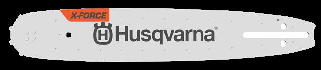"""Husqvarna - Laminovaná lišta X-Force 3/8"""" MINI / 1,3 mm / malé uchycení lišty (SM) (582 20 76-45)"""