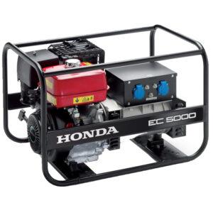 Honda - Rámová profesionální elektrocentrála EC 5000