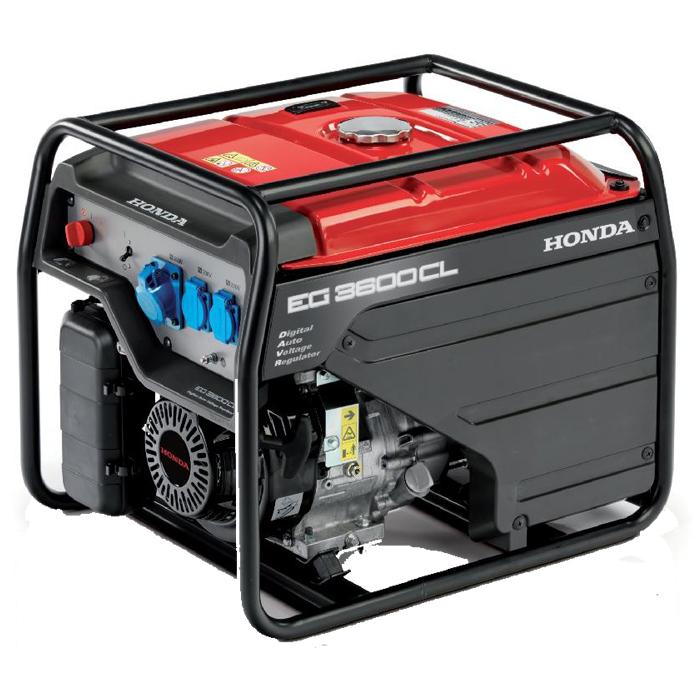Honda - Rámová profesionální elektrocentrála EG 3600