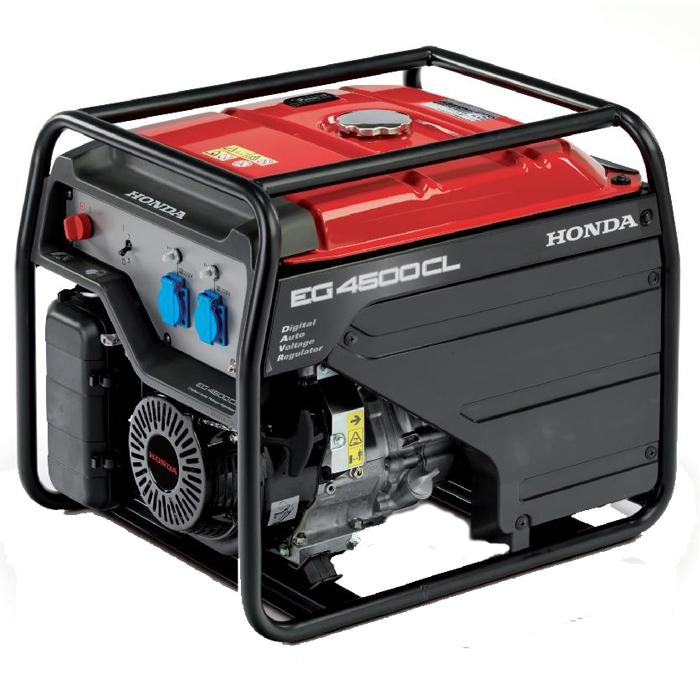 Honda - Rámová profesionální elektrocentrála EG 4500