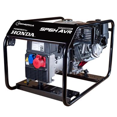 Honda - Rámová profesionální elektrocentrála SP 6 H AVR
