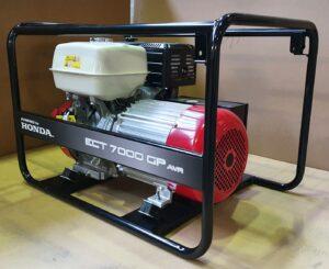 Honda - Rámová profesionální elektrocentrála ECT 7000GP AVR
