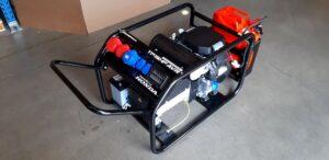Honda - Rámová profesionální elektrocentrála TP 12 HP AVR s podvozkem