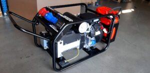 Honda - Rámová profesionální elektrocentrála TP 12 HP s podvozkem