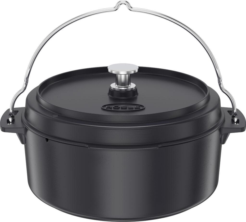 "RÖSLE - Litinový kotlík ""Dutch oven"" VARIO Ø 35cm"