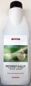 Honda - Olej motorový Honda, 0,6 L - SAE10W30 API SL/CF