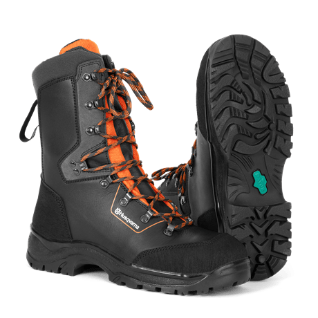 Husqvarna - Ochranná kožená obuv Classic 20 s ochranou proti proříznutí 20 m/s