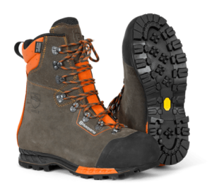Husqvarna - Ochranná kožená obuv Functional s ochranou proti proříznutí 24 m/s